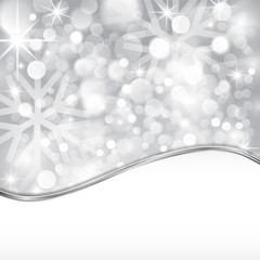 Silver shiny background