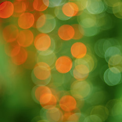 green and red abstract bokeh background