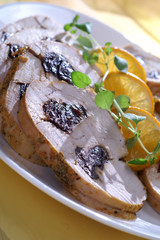 Turkey with prunes