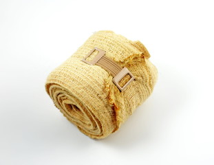 A isolated shot of a tension bandage