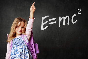 Mädchen meldet sich - E=mc2