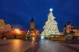 Chrismas morning in the Prague