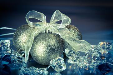 shiny christmas ball decoration