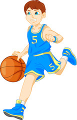 boy basketball player