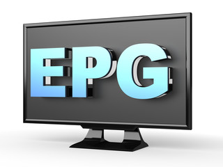 EPG (Electronic program guides) - on TV