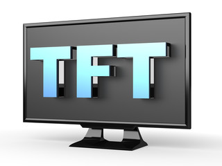 TFT -  thin film transistor liquid crystal display