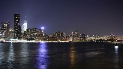 manhattan night bay 4k day time time lapse from new york