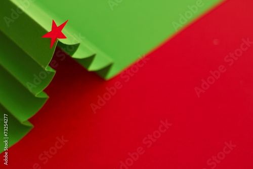 canvas print picture Christmas tree background