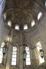 Church ruins of the Carmo Convent in Lisbon, Portugal