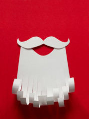Santa Claus conceptual background