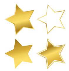 vier verschiedene sterne