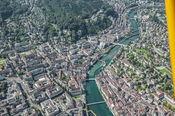 Luzern, Flugaufnahme