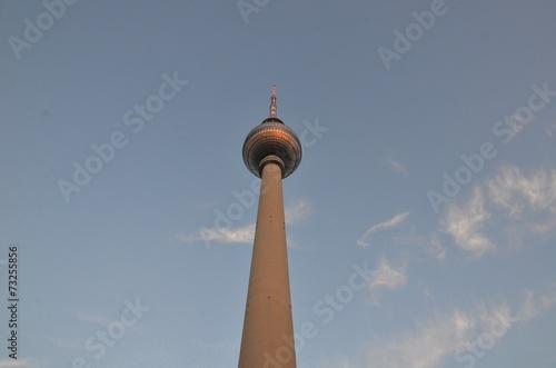 canvas print picture Fernsehturm,Berlin