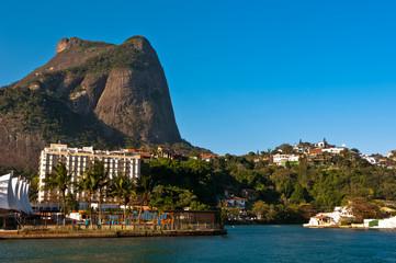 Beautiful Natural Landscape of Rio de Janeiro and Pedra da Gavea
