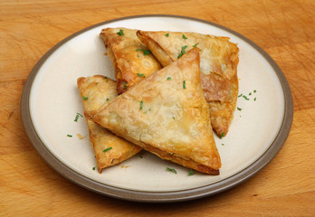 Indian Meat Samosas