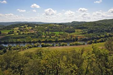 La valle della Dordogna a Marqueyssac - Aquitania