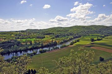 La valle della Dordogna a Marqueyssac