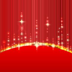 Festlicher Hintergrund - Rot