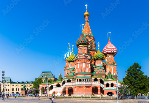 mata magnetyczna Cathedral of Vasily the Blessed