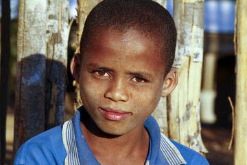 Cute african boy with beautiful smile - Madagascar