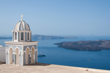 Church at Santorini Island, Greece