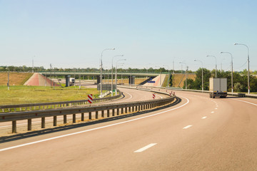 Road outcome. Viaduct