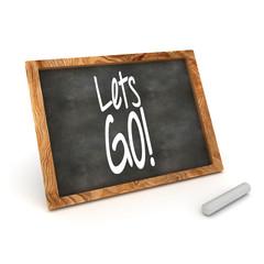 Blackboard Lets Go!
