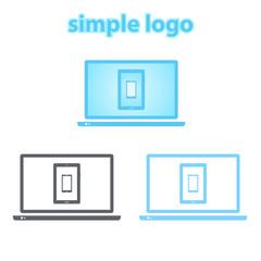 Simple logo.