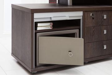 modern metal safe