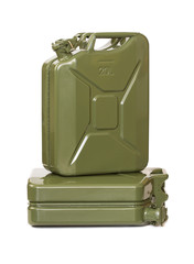 Two jerrycans