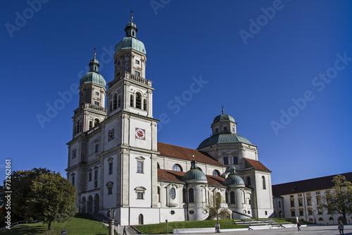 Leinwanddruck Bild Basilika St. Lorenz