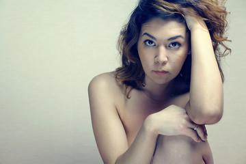 oriental girl nude