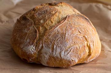 Boule de pain rustique
