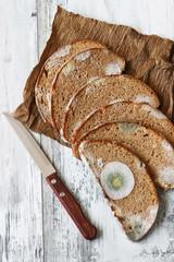spoiled bread