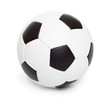 canvas print picture - soccer ball object on white