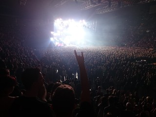 Heavy metal concert