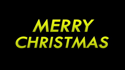 Merry Christmas with Alpha Matte