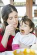 Baby eating baby Food Jar