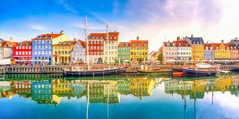 Nyhaven Kopenhagen Panorama