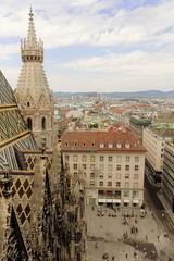 Stephanplatz, Ausblick vom Stephansdom