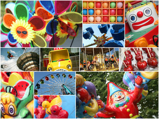 park of attractions,collage