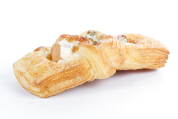 Smoke sausage Danish pastries