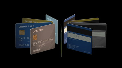Credit Cards Animation