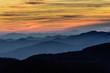 Leinwanddruck Bild - Layers of the Blue Ridge Mountains