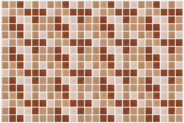 tile mosaic square decorated glitter red pink texture background