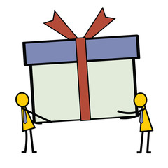 Giving gift box