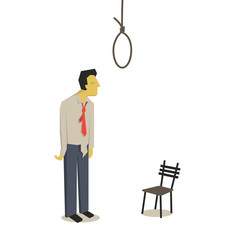 Suicide businessman