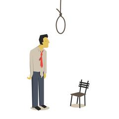 Suicide businessman