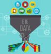 Big data illustration scheme - 73272413