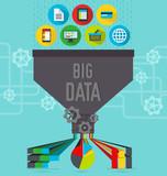 Big data illustration scheme